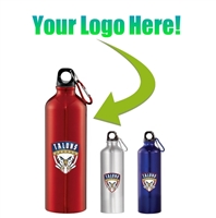 Custom Logo Aluminum Bottle