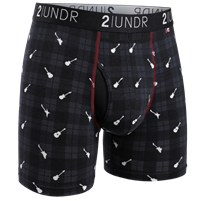 2UNDR Swing Swift Golf Boxer Brief - Rockin' Plaid