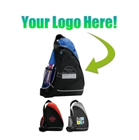 Custom Logo Sling Backpack