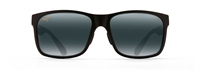 Maui Jim Red Sands Polarized Sunglasses - Matte Black