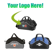 "Custom Logo 18"" Sport Duffel Bag"