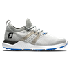 FootJoy Men's HyperFlex Golf Shoe - Grey/White/Blue