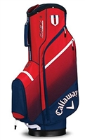 Callaway CHEV Cart Bag - Navy/Red/White