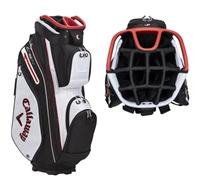 Callaway 2021 Org 14 Cart Bag, White/Black/Red