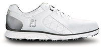 FootJoy Pro SL Spikeless Golf Shoe - White/Silver