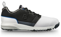 FootJoy Contour Fit Golf Shoe - White/Black