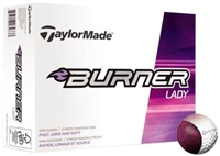 TaylorMade Burner Lady Custom Logo Golf Balls