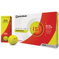 TaylorMade Project (s) Golf Ball - Yellow
