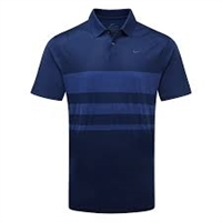 Nike Dri-FIT Vapor Men's Striped Golf Polo, Blue Void