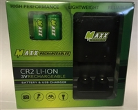 Maxx CR2 Rechargeable LI-ION Battery