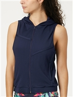 Lucky in Love Ladies Vest Uptown Cargo, Navy