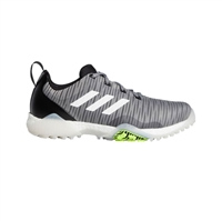 adidas Mens CodeChaos Golf Shoes, Grey/Cloud White/Black