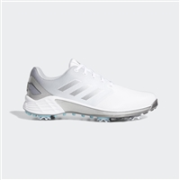 adidas Men's ZG21 Golf Shoes - Cloud White / Dark Silver Metallic / Grey Five