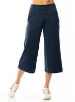 Lucky in Love Amour High Waist Culottes Pant, Navy