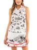 Lucky in Love C'est La Vie Ruche Tank, White