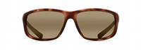Maui Jim Spartan Reef Polarized Sunglasses - Matte Tortoise