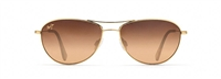 Maui Jim Baby Beach Polarized Sunglasses - Gold