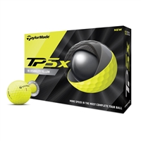 TaylorMade TP5-X Yellow Golf Balls