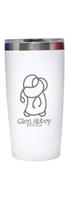 Glen Abbey Namaka 20oz (501ML) Coffee Tumbler, White