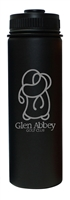 Glen Abbey Namaka 21oz (579ML) Wide, Black