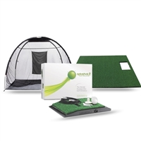 Optishot 2 Golf Simulator + Golf Mat + Net  (Golf in a Box)