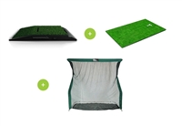 Optishot 2 Golf Simulator + Golf Mat + Net  (Golf in a Box 2 Premium)