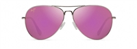 Maui Jim Mavericks Polarized Sunglasses - Rose Gold