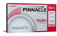 Pinnacle Rush Golf Balls 15-Pack