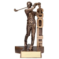 6.5″ Men's Golf Trophy | Billboard Series