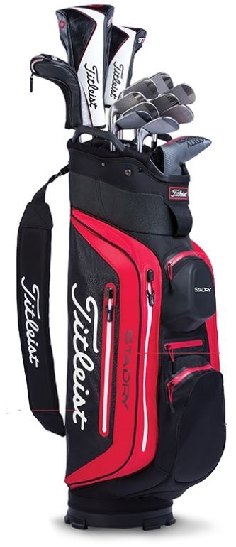 3a7418ca45 Titleist StaDry Deluxe Cart Bag