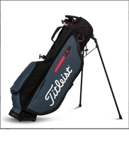 Titleist Players 4 Stand Bag- Charcoal/Black
