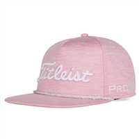 Titleist PINKOUT Tour Space Dye Rope Pink Hat