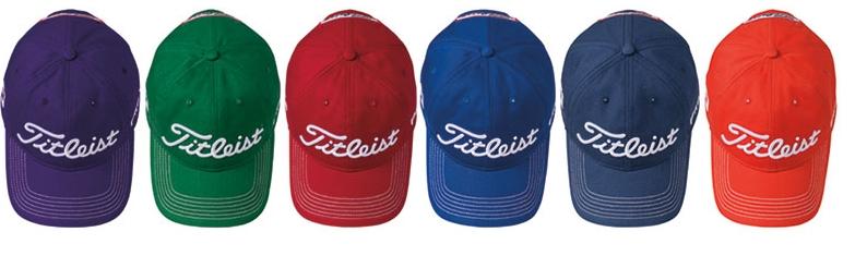 cc9dc4b23c8 Titleist Contrast Stitch Golf Hat
