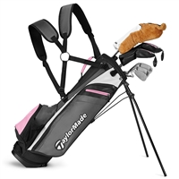 TaylorMade Rory Girls Junior Package Set - 8 Piece Set (Ages 8+)