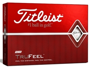 Titleist TruFeel Custom Logo Golf Balls