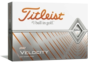 Titleist 2020 Velocity Custom Logo Golf Balls