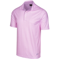 Greg Norman ML75 2BELOW Shark Fin Polo, Light Magenta