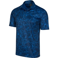 Greg Norman Illusion Stretch Polo, Ultra Blue