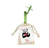 "Personalized 4"" Single Stalk lucky bamboo wedding favor"