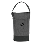 Embroidered Insulated Wine Carrier