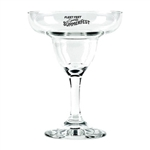 Personalized 9 oz. margarita glass makes a great addition to your wedding