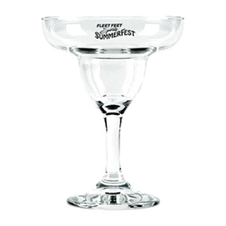 Custom imprinted 9 oz. margarita glass makes a great addition to your wedding