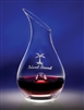 Personalized Glass Wine Decanter great gift for the wine lover