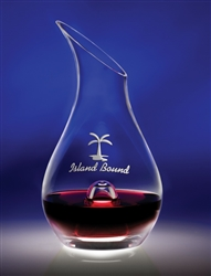 46 oz. Essence Glass Wine Decanter great gift for the wine lover