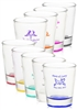 Personalized 1.75 oz. Clear Shot Glass Wedding Favor
