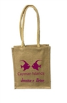 Personalized Nature Jute Goody Bag