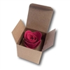 Personalized Bloom Box with single Rose wedding favor