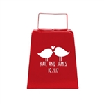 Personalized Large Wedding Cowbell