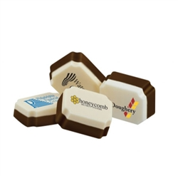 Personalized individually wrapped chocolate candies