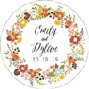 "Personalized 3"" Seed Paper Coasters in Full Color"